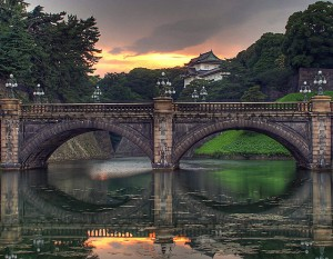 Tokyo Imperial Palace.